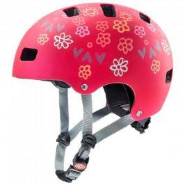 Detská cyklistická prilba Uvex Kid 3 CC tmavočervená