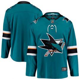 Dres Fanatics Breakaway Jersey NHL San Jose Sharks domáci
