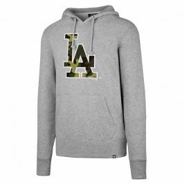 Pánska mikina s kapucňou 47 Brand Headline Pullover Hood MLB Los Angeles Dodgers