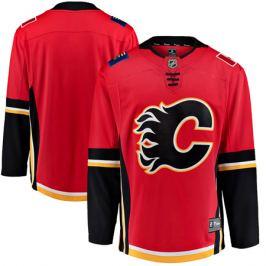 Dres Fanatics Breakaway Jersey NHL Calgary Flames domáce