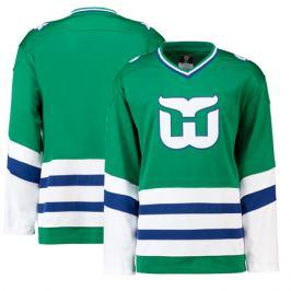 Retro Dres Fanatics Heritage Breakaway Jersey NHL Hartford Whalers 1979-1992