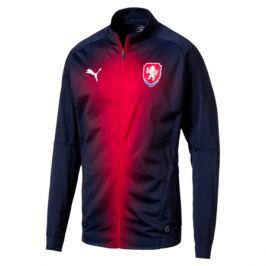 Pánska futbalová bunda Puma Stadium reprezentácia Česká republika