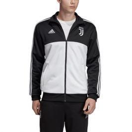 Pánska mikina na zips adidas 3S Juventus FC čierno-biela