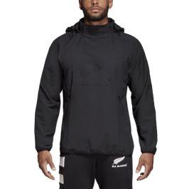 Pánska bunda s kapucňou adidas Weath All Blacks