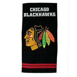 Osuška NHL Chicago Blackhawks Black