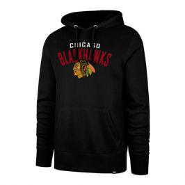 Pánska mikina s kapucňou 47 Brand Outrush NHL Chicago Blackhawks
