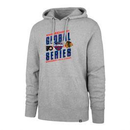 Pánska mikina s kapucňou 47 Brand Headline Hood NHL Global Series Dueling GS19