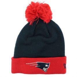 Zimná čiapka New Era Pop Team Knit NFL New England Patriots