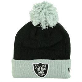 Zimná čiapka New Era Pop Team Knit NFL Oakland Raiders
