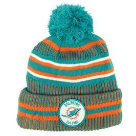 Zimná čiapka New Era Onfield Cold Weather Home NFL Miami Dolphins