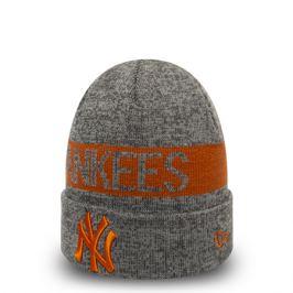 Zimná čiapka New Era Marl Cuff Knit MLB New York Yankees sivá