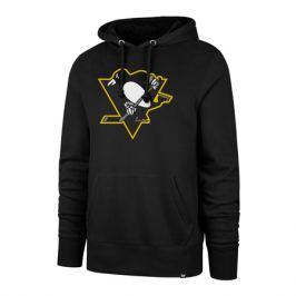 Pánska mikina s kapucňou 47 Brand Headline Hood Imprint NHL Pittsburgh Penguins