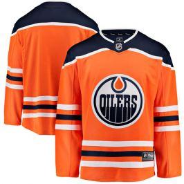 Dres Fanatics Breakaway Jersey NHL Edmonton Oilers domáci
