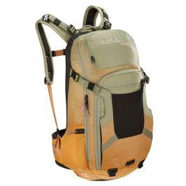 Cyklistický batoh EVOC FR TRAIL WOMEN zeleno-oranžový