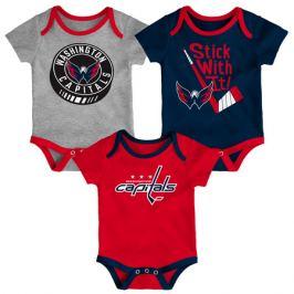 Detské body Outerstuff NHL Washington Capitals 3 ks