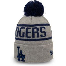 Zimná čiapka New Era Bobble Knit MLB Los Angeles Dodgers