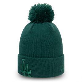 Dámska zimná čiapka New Era Bobble Knit MLB Los Angeles Dodgers