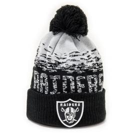 Zimná čiapka New Era Sport Knit NFL Oakland Raiders