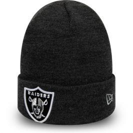 Zimná čiapka New Era Heather Essential Knit NFL Oakland Raiders