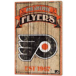 Nástenná doska WinCraft Established NHL Philadelphia Flyers