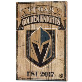 Nástenná doska WinCraft Established NHL Vegas Golden Knights