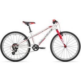 Detský bicykel Rock Machine 24 Thunder strieborný