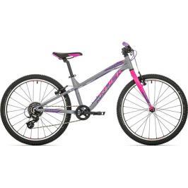 Dětský bicykel Rock Machine 24 Thunder šedý