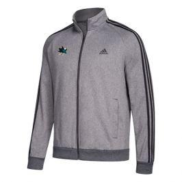 Pánska športová bunda adidas Track Jacket NHL San Jose Sharks