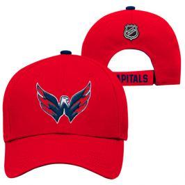 Detská šiltovka Outerstuff Basic Structured Adjustable NHL Washington Capitals
