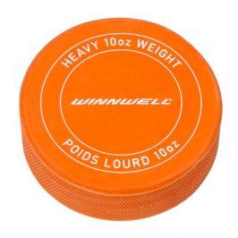 Hokejový puk WinnWell Printed oranžový