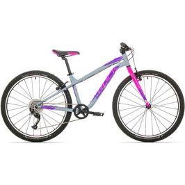 Detský bicykel Rock Machine 26 Thunder šedo-ružový