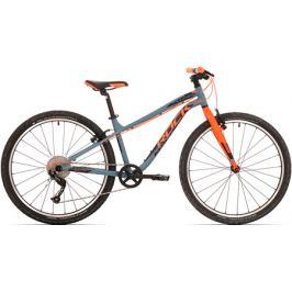 Detský bicykel Rock Machine 26 Thunder šedo-oranžový