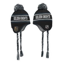 Detská zimná čiapka Outerstuff Jacquard Tassel Knit with Pom NHL Vegas Golden Knights