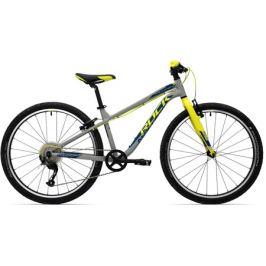 Detský bicykel Rock Machine 26 Thunder šedo-žltý
