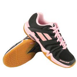 Dámska halová obuv Babolat Shadow Team Black/Pink