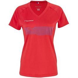 Detské tričko Tecnifibre Lady F2 Airmesh Red