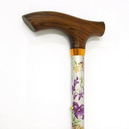 Walking sticks Kovová vychádzková palica rozkladacia Walking sticks - 314