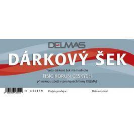 Darčekový šek DELMAS - 1000Kč