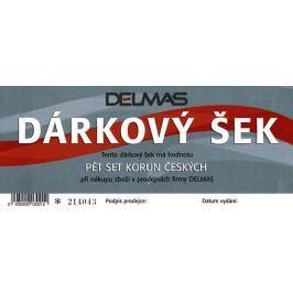 Darčekový šek DELMAS - 500 Kč