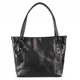 f6fadd401e Detail · Sněžka Náchod Dámská kožená kabelka přes rameno 5098 - černá