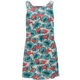 Krémové dievčenské vzorované šaty Roxy Fearless