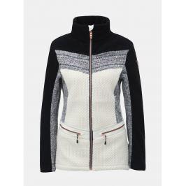 Detail · Čierno–biela dámska tenká fleecová bunda killtec Tea 7a90c2a11f7