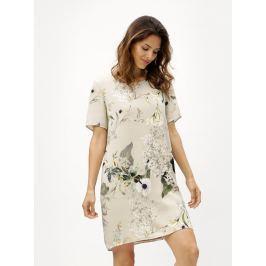 da6cc54076a2 Detail · Béžové kvetované šaty ONLY Alma