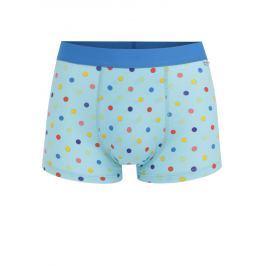 5e9981c078c7f Detail · Modré bodkované boxerky Happy Socks Dot