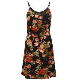 Detail · Čierne kvetované šaty Haily´s Tabea bed71b7090f
