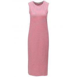 ae6ca55ed573 Detail · Bielo-ružové pruhované šaty Jacqueline de Yong Charm