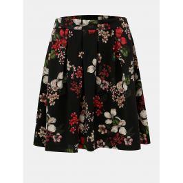 9fc483cb516d Detail · Čierna áčková kvetovaná sukňa ONLY Doris