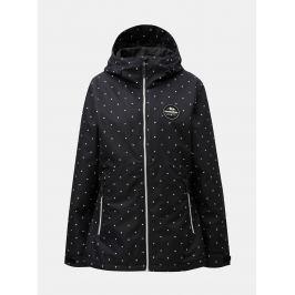 4921ab3fe Detail · Čierna dámska bodkovaná funkčná zimná bunda Horsefeathers Judy