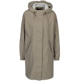 Detail · Béžový dámsky vodovzdorný tenký kabát Makia 8f8ad03e52b