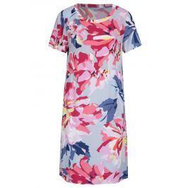 88a24c441eac Detail · Modro-ružové kvetované šaty s krátkym rukávom Tom Joule